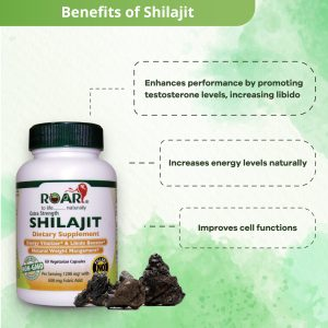 Health Benefits of  Extra Strength SHILAJIT