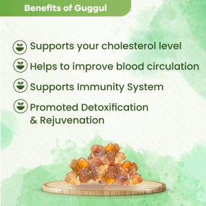 Health Benefits of Extra Strength GUGGUL